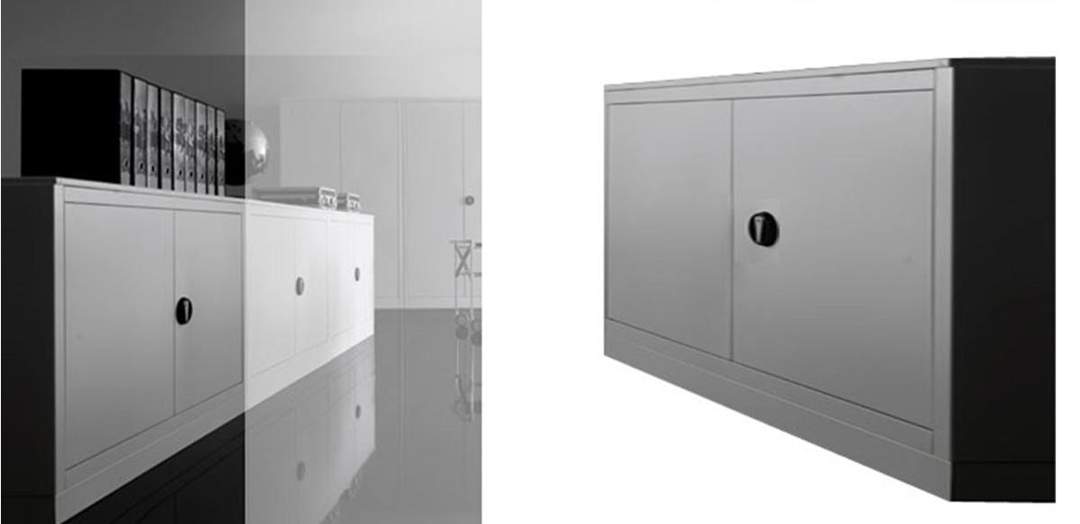 Mobili per ufficio armadio ufficio metallo con ante cm for Acquisto mobili per ristrutturazione aliquota iva