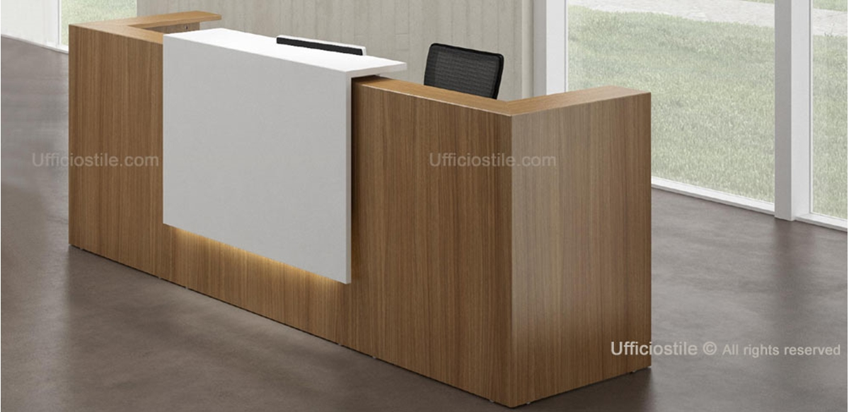 Reception modulare cm. 285 con luce led