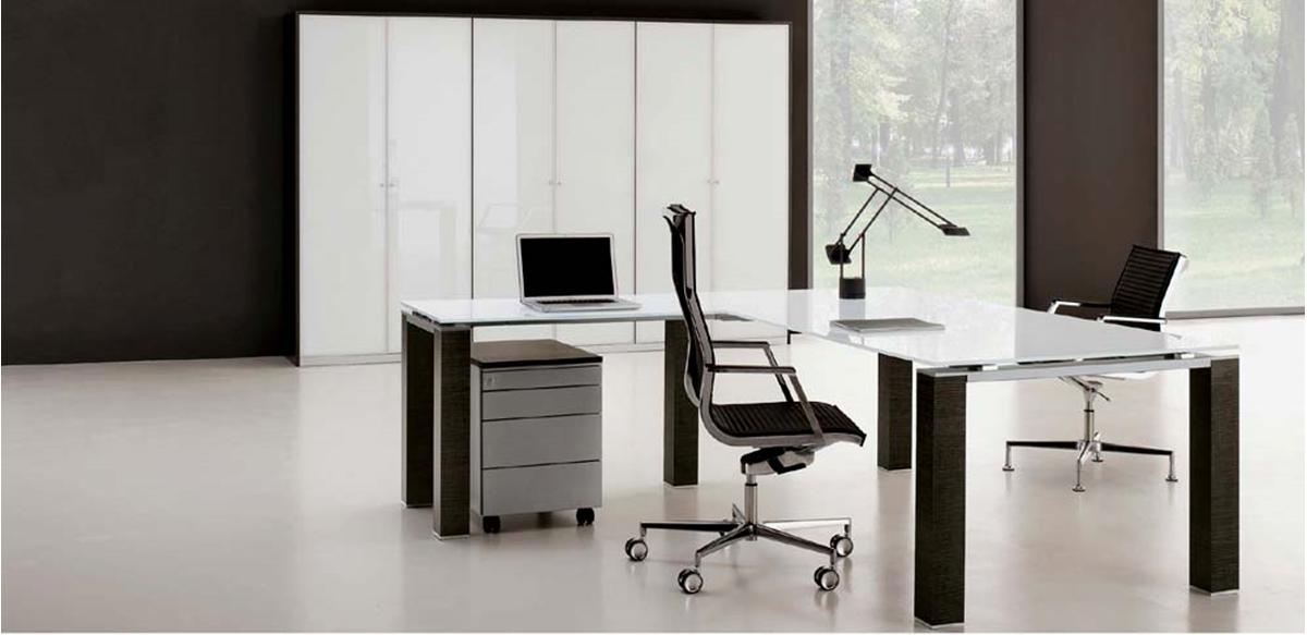 Mobili per ufficio scrivania direzionale con allungo for Scrivania direzionale