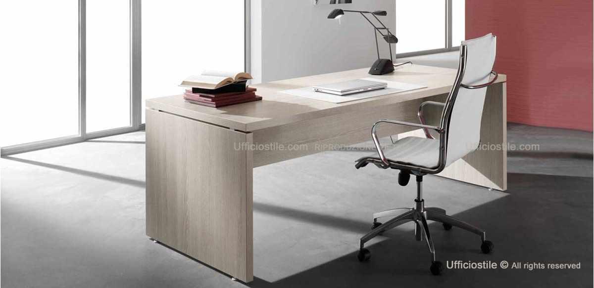mobili per ufficio scrivania direzionale spessore 38 mm