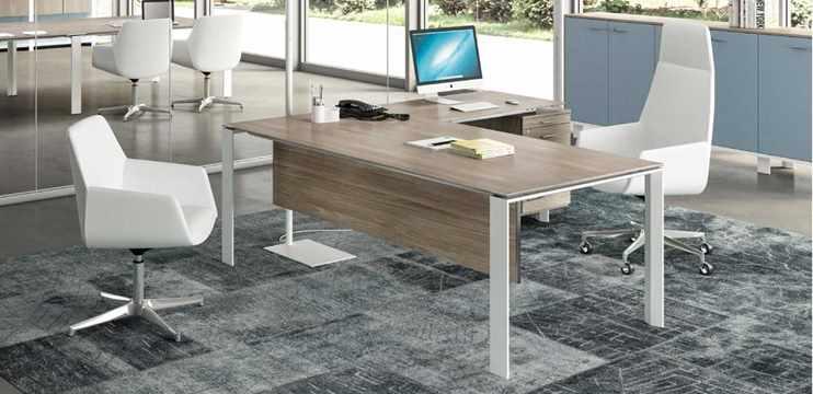 Mobili ufficio color olmo ufficiostile for Color tabacco mobili